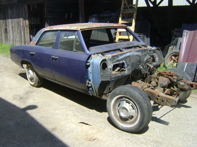 1966 1967 Chevelle Parts Car Or Donor Rust Free 4 Door Excellent Frame For Sale Chevrolet