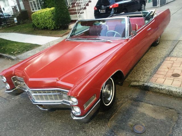 1966 Cadillac * Eldorado * Convertible * Wood Grain * White