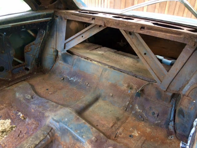 1966 Chevelle Ss Supersport Real 138 Roller Project Car