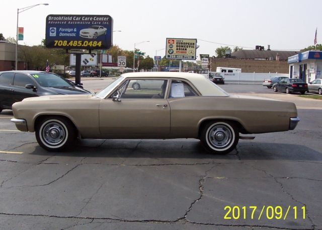 1966 Chevrolet Biscayne 2 Door Solid Frame And Floors