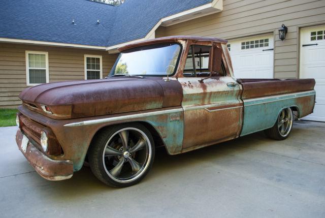 1966 chevrolet c10 pickup street rod patina ls motor for C k motor car sales