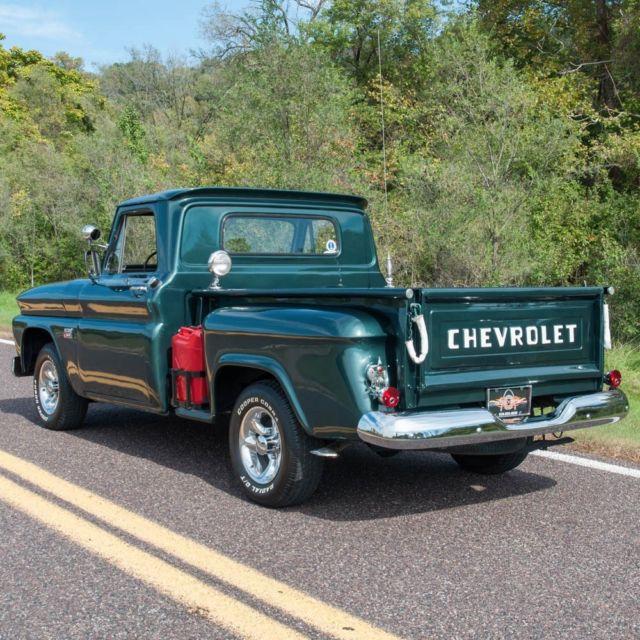 1966 Chevrolet C10 Stepside Half-Ton Pickup Truck, Inline 6