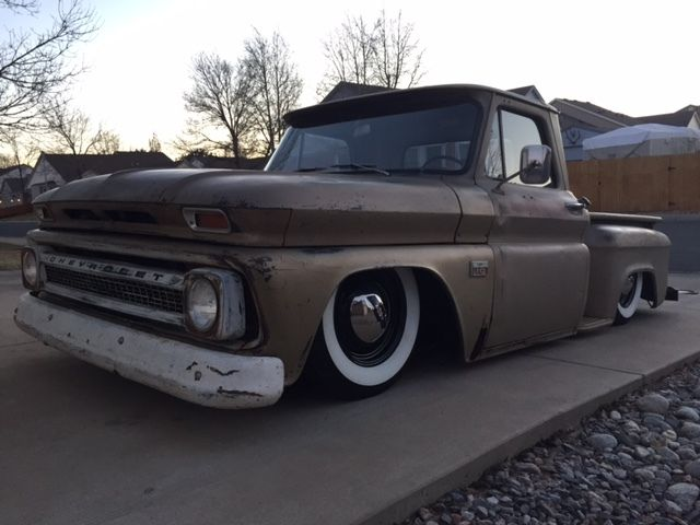 1966 Chevrolet C10, SWB, Patina, Bagged, Chevy, Truck ...