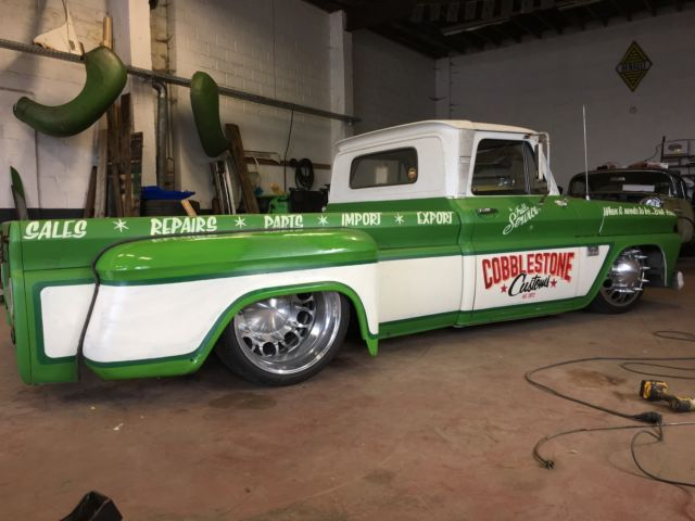 Chevy Silverado Custom Wheels >> 1966 Chevrolet C30 Custom truck Chevy 66 C10 C20 hot rod rat rod air bag lowered for sale ...