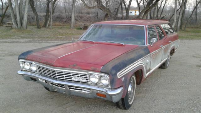 1966 CHEVROLET CAPRICE ESTATE WAGON for sale: photos ...   1966 Chevrolet Caprice Wagon