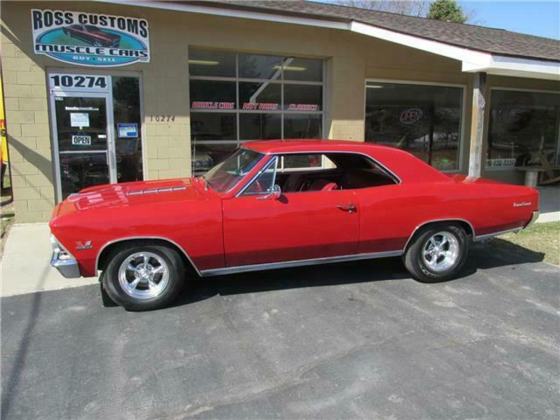 1966 Chevrolet Chevelle Ss 396 4 Speed 138 Vin For