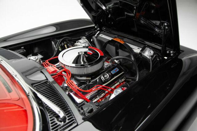 Chevrolet Corvette Black Red Show Car Convertible For Sale