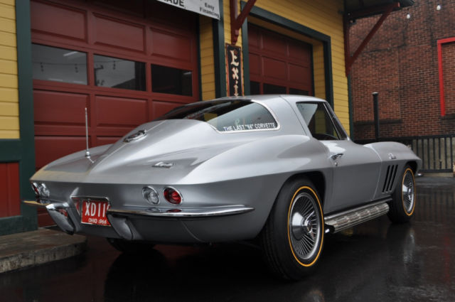 1966 chevrolet corvette stingray 10 miles silver pearl 427 390 hp 4 speed for sale chevrolet. Black Bedroom Furniture Sets. Home Design Ideas