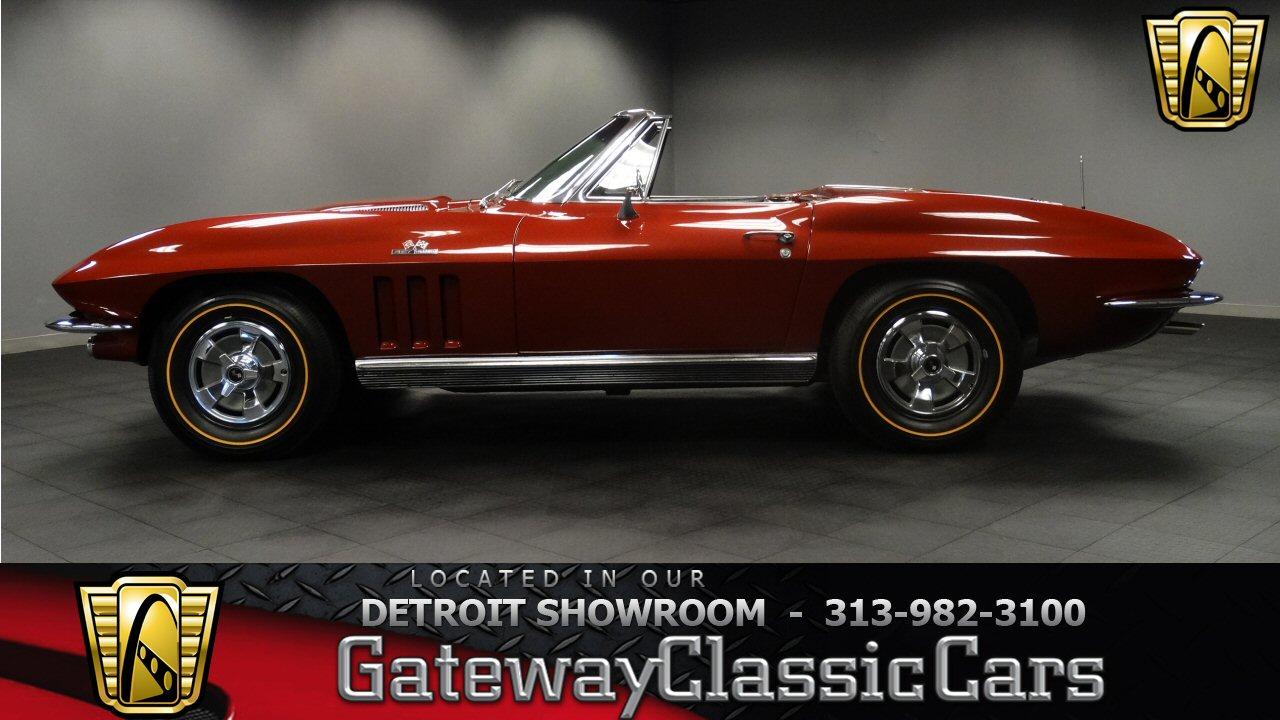 1966 Chevrolet Corvette Stingray 4700 Miles Milano Maroon