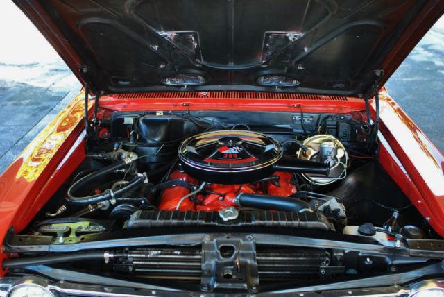 1966 Chevrolet El Camino 396 SS Tribute Original Engine ...