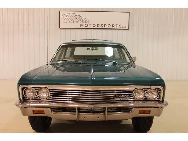 1966 chevrolet impala ss wagon 67258 miles blue 396 4. Black Bedroom Furniture Sets. Home Design Ideas