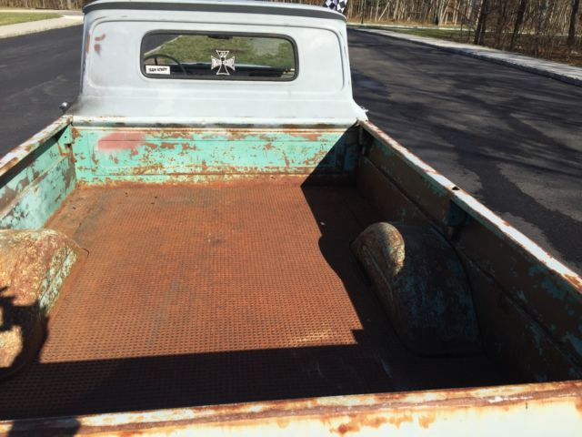 1966 chevy c 10 long bed slammed pickup ratrod lowered with great