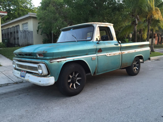 1966 chevy c10 fleetside short bed for sale chevrolet c 10 1966 for sale in dania florida. Black Bedroom Furniture Sets. Home Design Ideas