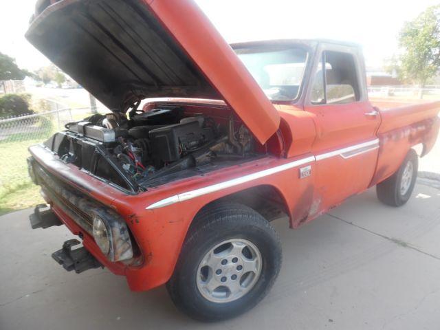 1966 chevy c10 shortwide 39 39 custom on tahoe frame 39 running gear 5 3 engine 4l60 tr for sale. Black Bedroom Furniture Sets. Home Design Ideas