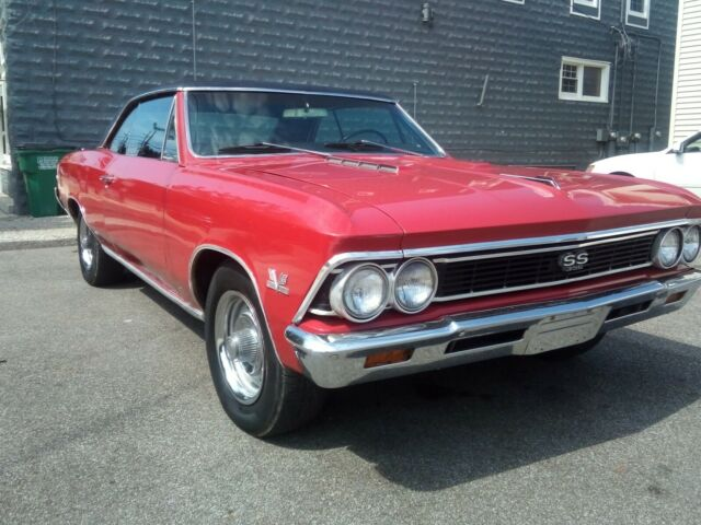 1966 Chevy Chevelle Ss 396 V 8 Automatic Bucket Seats Console Red Black Vinyl For Sale Chevrolet Chevelle 1966 Chevelle Ss Classic Muscle Car 1966 For Sale In Perry Ohio United States