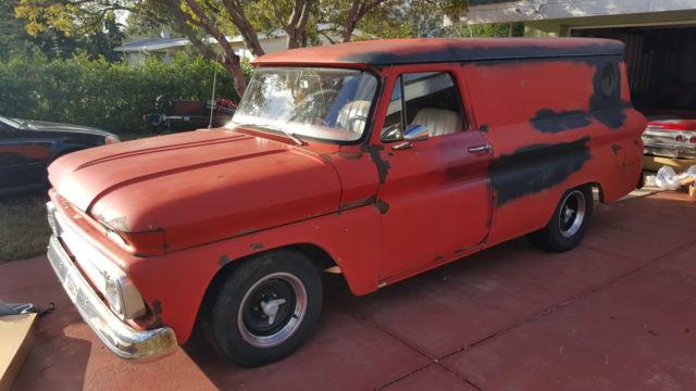1966 Chevy Suburban Panel C10 TBI 350 700r4 Disc Brakes Tilt Extra Parts Ratrod