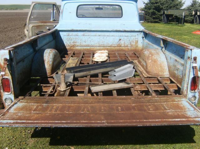 1966 chevy truck c 15 1/2 ton original classic vintage ...