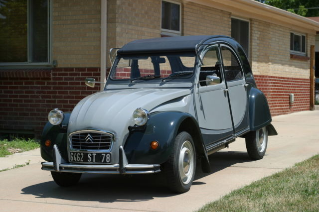 1966 citroen 2cv charleston for sale citro n 2cv. Black Bedroom Furniture Sets. Home Design Ideas