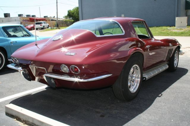 1966 corvette coupe 454 450hp ls6 motor real big block car for West palm beach motor vehicle registration