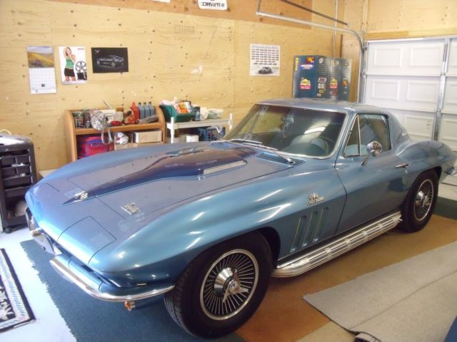 1966 corvette stingray fastback coupe 427 big block vette engine nom 4 speed for sale. Black Bedroom Furniture Sets. Home Design Ideas