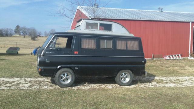 1966 Dodge A100 Van Quot Camp Wagon Quot Camper For Sale Dodge