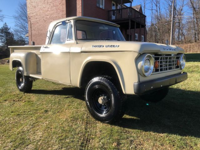 Miracle Body And Paint >> 1966 Dodge Power Wagon Step Side, Low Mi, Everything Works ...