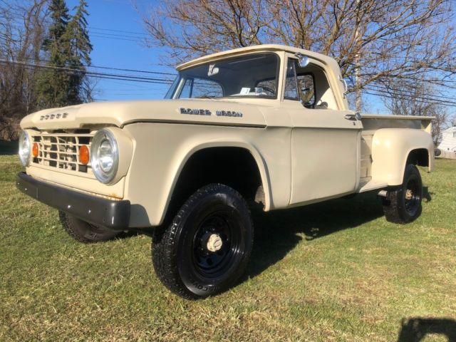 Dodge Power Wagon For Sale >> 1966 Dodge Power Wagon Step Side, Low Mi, Everything Works, Great Driver! for sale - Dodge Power ...