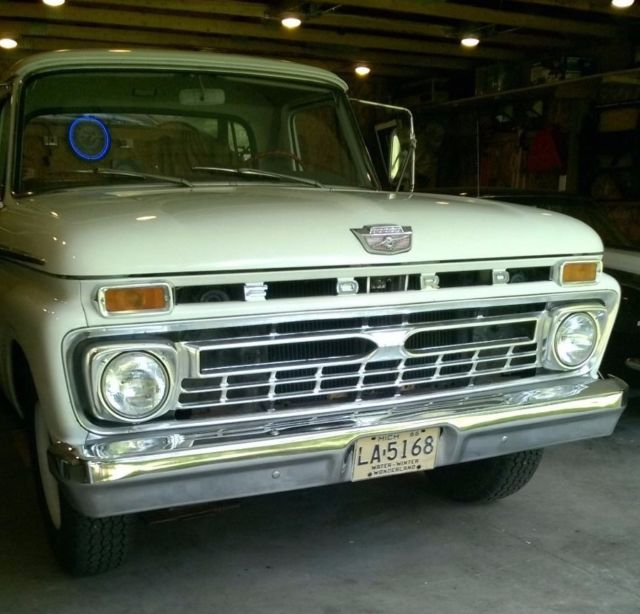 1966 F250 Camper Special For Sale
