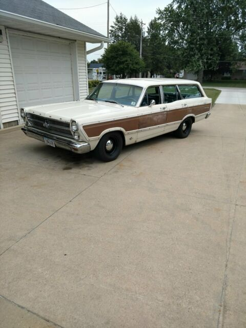 1966 fairlane 500 squire 4 door station wagon for sale - Ford