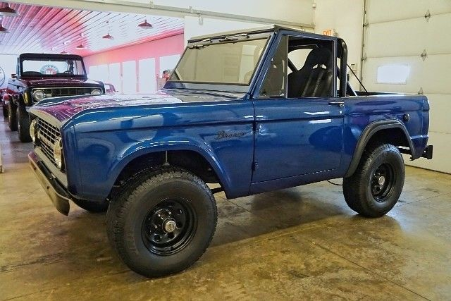 1966 ford bronco blue with 3 020 miles available now for sale ford bronco 4wd 1966 for sale. Black Bedroom Furniture Sets. Home Design Ideas