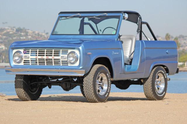 1966 Ford Bronco Custom Built Roadster V8 Automatic
