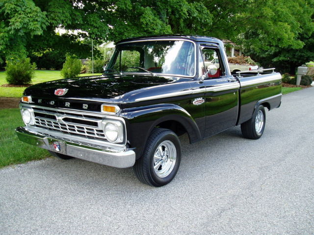 1966 ford custom cab one awesome truck must see for sale ford f 100 custom cab 1966. Black Bedroom Furniture Sets. Home Design Ideas