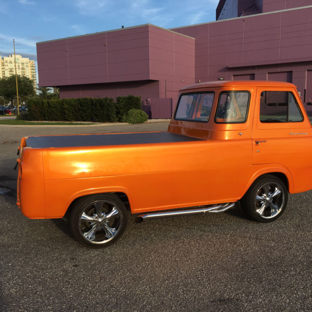 Ford Small Vehicle With  Doors And Truck Bed