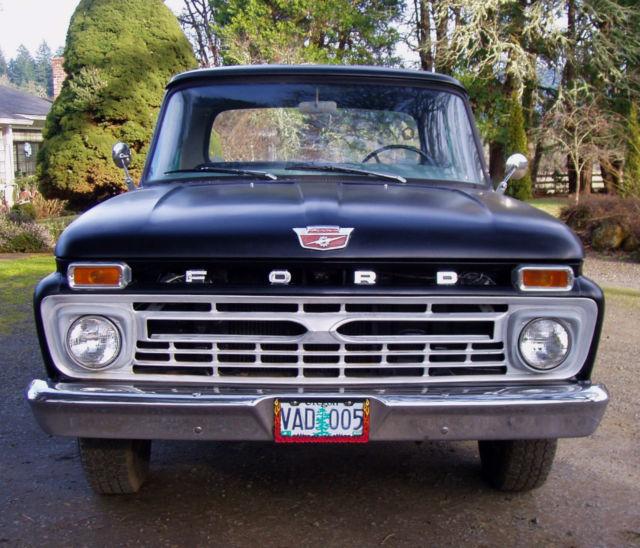 1966 Ford F-100 Base Standard Cab Pickup 2-Door 4.9L