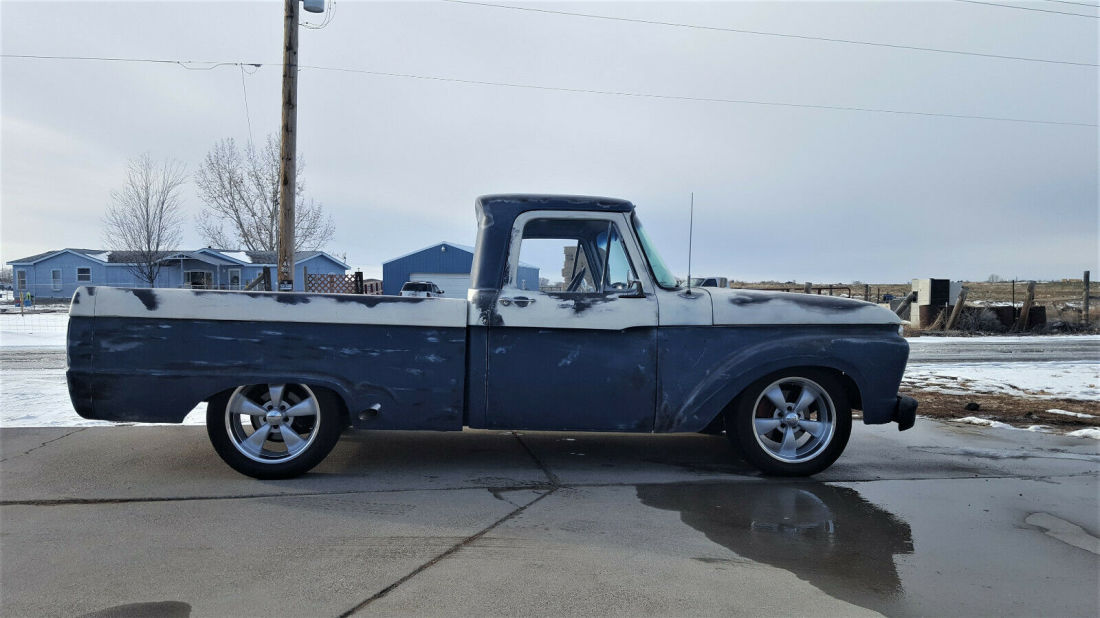 1966 Ford F 100 Truck Rat Hot Rod Crown Vic Chassis Swap 4 6 Swb 1 2 Ton For Sale Ford F 100 1966 For Sale In Jerome Idaho United States