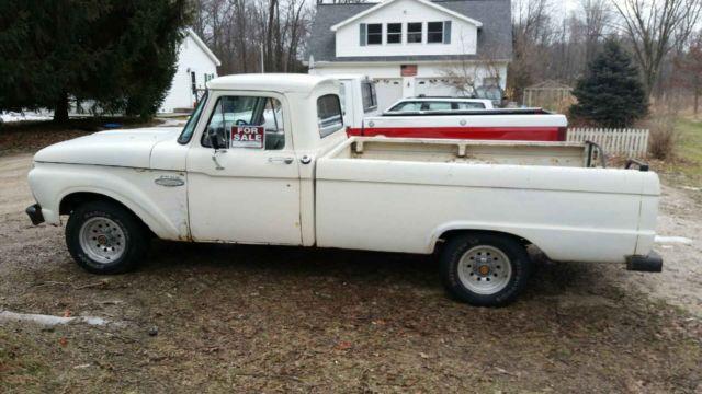 1966 ford f100 2 wd truck 289 v8 4 speed manual transmission for sale ford f 100 1966 for sale. Black Bedroom Furniture Sets. Home Design Ideas