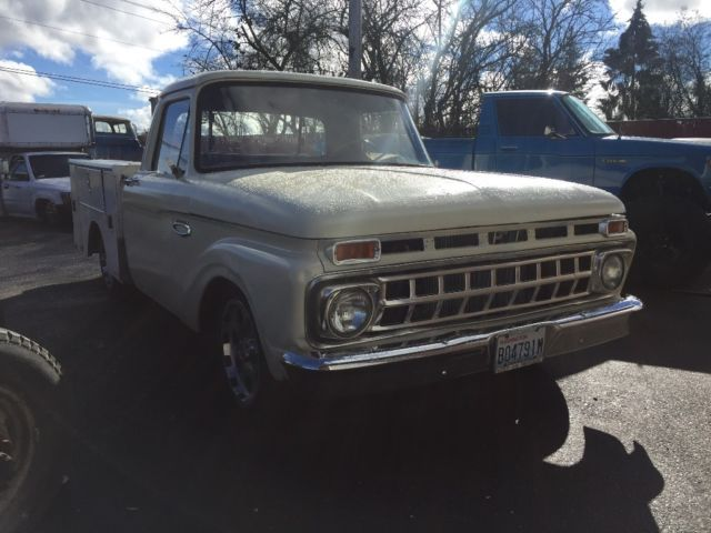 1966 ford f100 lowered short bed Rat rod truck for sale - Ford F-100 1966 for sale in Marysville