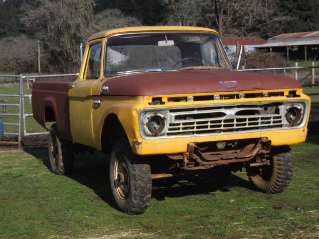 1966 ford f250 original 4x4 pickup truck for sale ford f. Black Bedroom Furniture Sets. Home Design Ideas