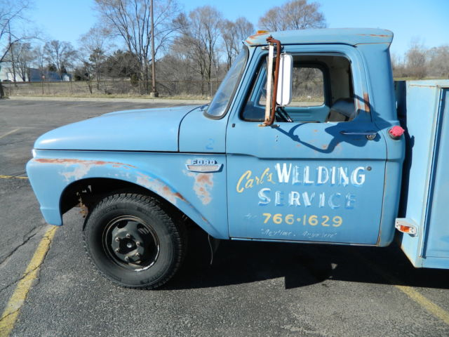 1966 Ford F350 truck Dually 352 FE Utility box F100 F250 for
