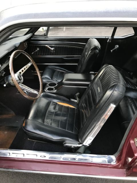 1966 ford mustang 289 v8 automatic ps pony interior very nice drives great for sale ford for 1966 ford mustang pony interior