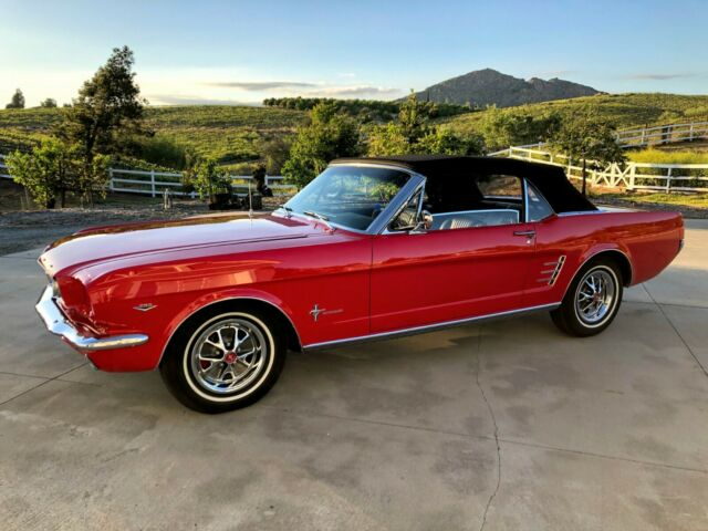 1966 Ford Mustang Convertible 289 V8 Fully Restored Show Car Pony Int Cloth Top For Sale Ford Mustang 1966 For Sale In Temecula California United States