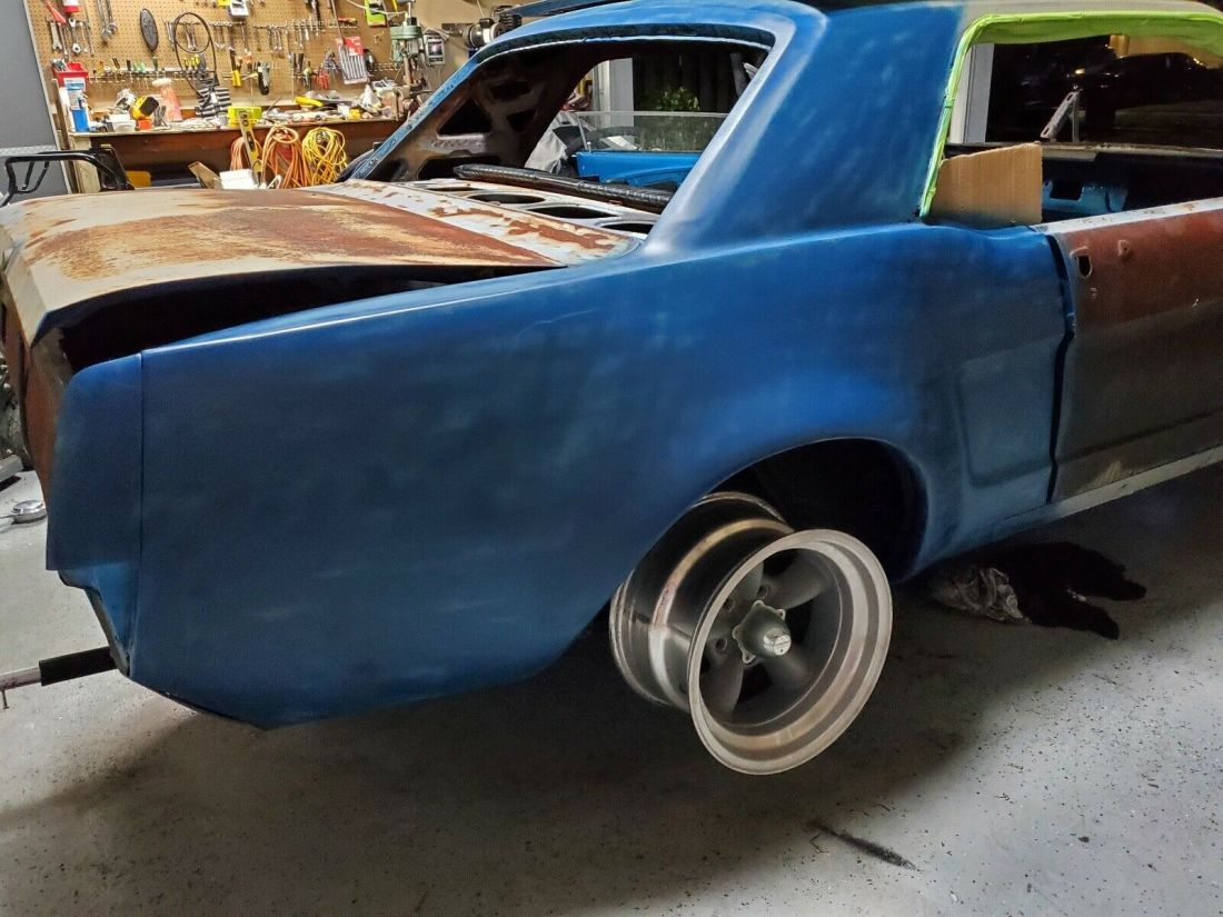 1968 Ford Mustang Sportscar Blue Rwd Manual For Sale Manual Guide