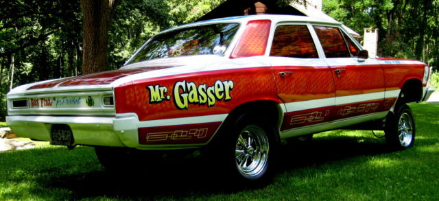 1966 Gasser,Custom 60's Paint,327 w/BDS 471 Blower,350 Auto