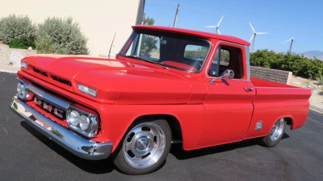 1966 GMC 1000 1000 SHORTBED FLEETSIDE! 350/350 V8 CLEAN CA