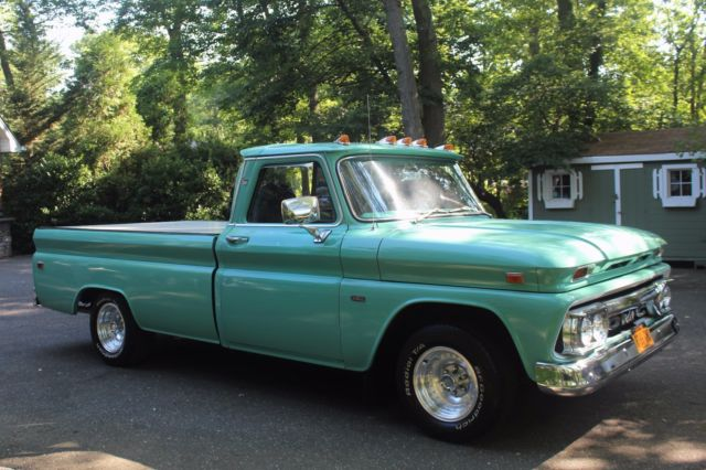 1966 Gmc Custom Chevy Pickup Truck 350 Zz3 Crate Motor