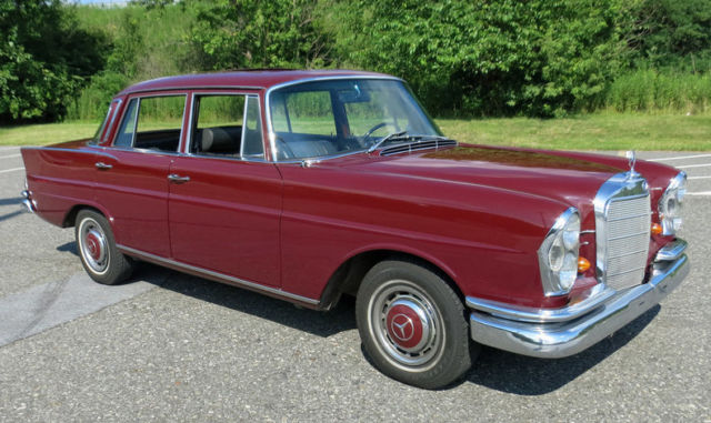 1966 mercedes 230s fintail sedan with sunroof for sale for 1966 mercedes benz for sale