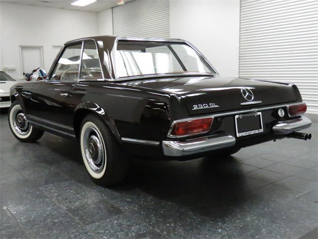 1966 mercedes benz 230 sl 2 door roadster for sale for Mercedes benz 230 for sale