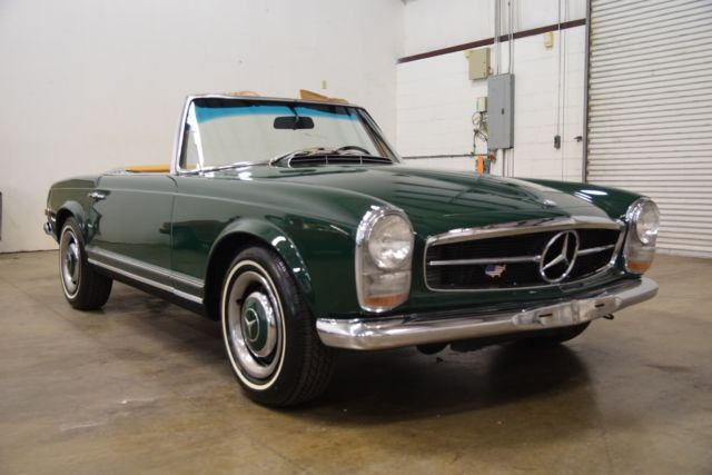 1966 Mercedes Benz 250sl Tidy Numbers Matching Driver