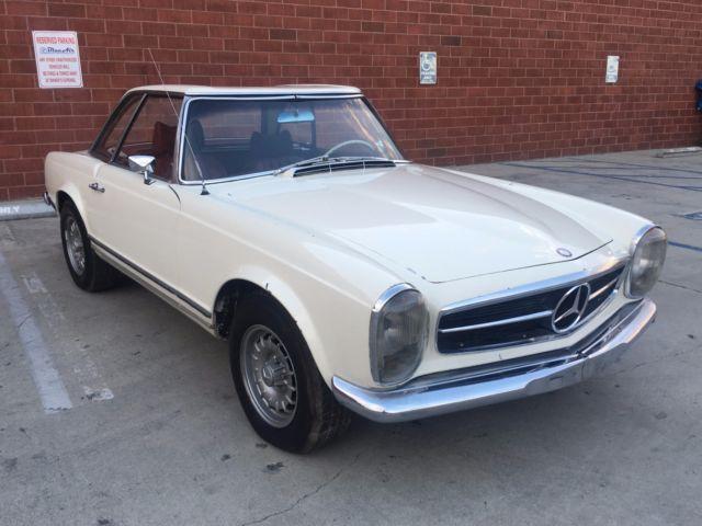 1966 Mercedes Pagoda Sl230 230sl 230 Sl For Sale