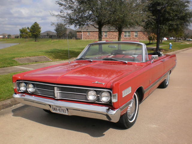 1966 mercury park lane convertible rare 428    for sale